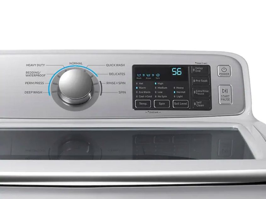 Replacing the Noise Filter on a Samsung Top-Load Washer