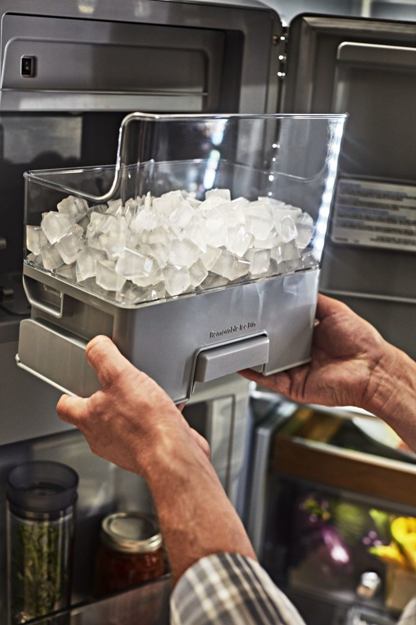 What To Do When Your Ice Maker Is Dispensing Water Appliance Repair Specialists