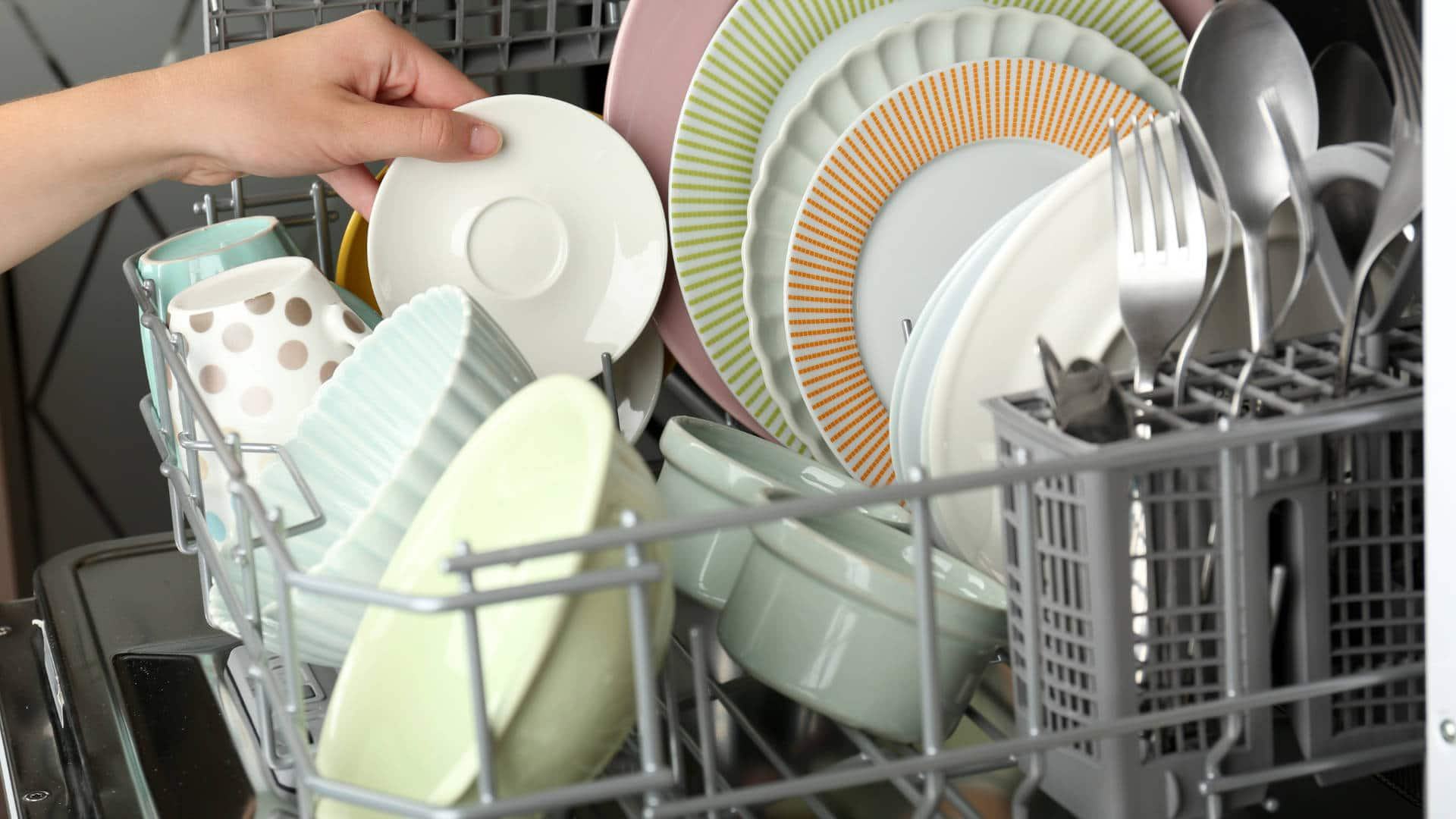 """Featured image for """"8 Common Dishwasher Problems (and Solutions)"""""""